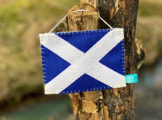 YES Scotland Pennant on Etsy
